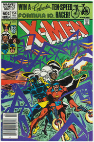 Uncanny X-Men #154 VF/NM Front Cover