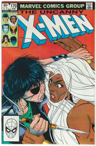 Uncanny X-Men #170 FN Front Cover