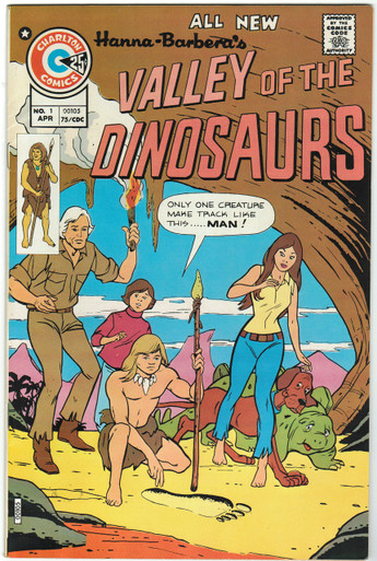 Valley of the Dinosaurs #1 VF/NM Front Cover