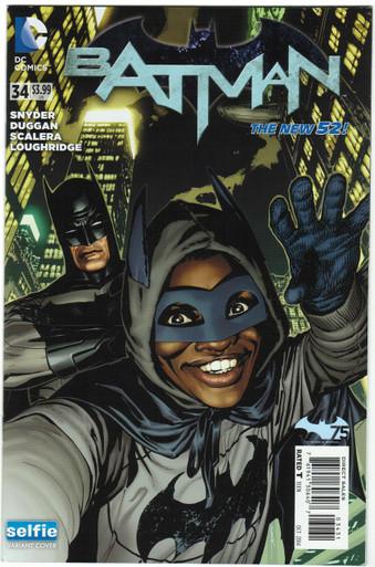 Batman #34 NM Selfie Variant Front Cover
