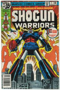 Shogun Warriors #1 VG Front Cover