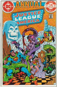 Justice League of America Annual #1 VF Front Cover