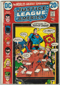 Justice League of America #105 FR Front Cover