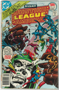 Justice League of America #144 GD Front Cover