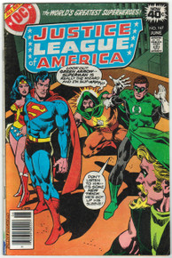 Justice League of America #167 VG Front Cover