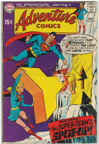 Adventure Comics #382 GD Front Cover