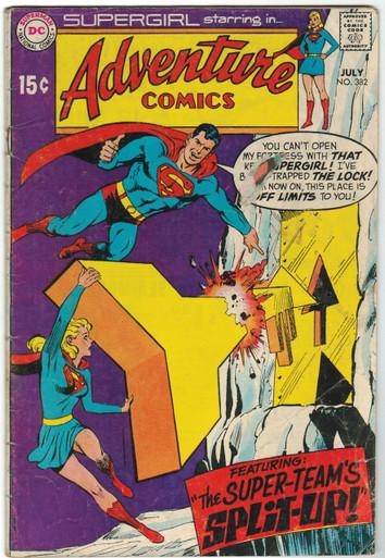 Adventure Comics #382 GD Front Cover