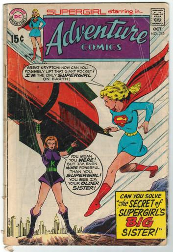 Adventure Comics #385 GD Front Cover