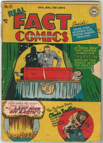 Real Fact Comics #15 GD Front Cover