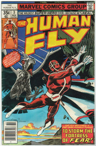 Human Fly #3 GD Front Cover