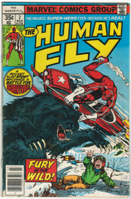 Human Fly #7 VG Front Cover