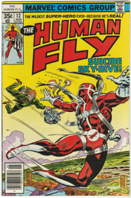 Human Fly #12 VF Front Cover