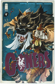 Goners #4 NM Front Cover