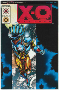 X-O Manowar #33 FN/VF Front Cover