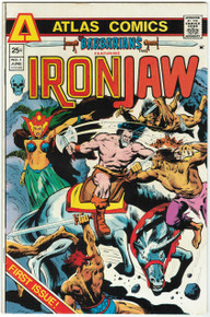 Barbarians #1 FN Front Cover