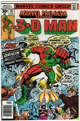 Marvel Premiere #35 VF/NM Front Cover