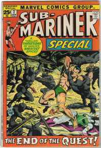 Sub Mariner Special #2 FN Front Cover