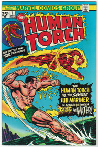 Human Torch #7 VF Front Cover