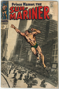 Sub Mariner #7 GD Front Cover