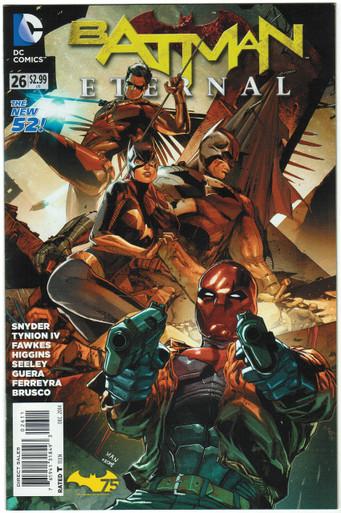 Batman Eternal #26 FN Front Cover