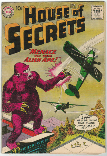 House of Secrets #26 GD Front Cover