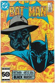 Batman #386 VF/NM Front Cover