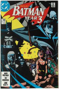 Batman #436 VF/NM Front Cover