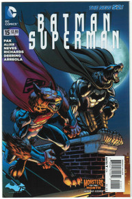 Batman Superman #15 NM Monster Variant Front Cover