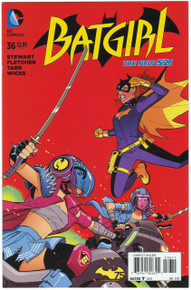Batgirl #36 NM Front Cover