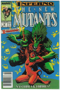 New Mutants #72 VF Front Cover