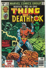 Marvel Two-In-One #54 VG Front Cover
