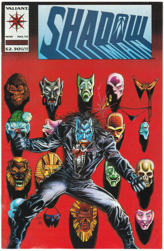 Shadowman #13 VF/NM Front Cover