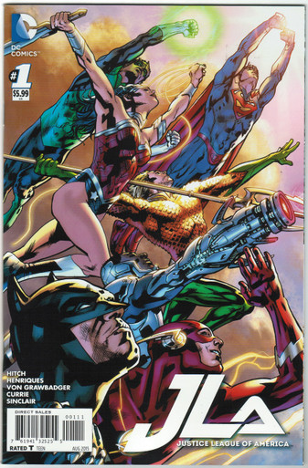 Justice League of America Vol. 4 #1 NM Standard Cover Front