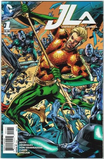 Justice League of America Vol. 4 #1 NM Aquaman Cover Front