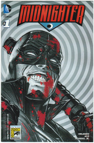 Midnighter #1 NM SDCC 15 Variant Front Cover