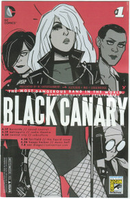 Black Canary #1 NM SDCC 15 Variant Front Cover