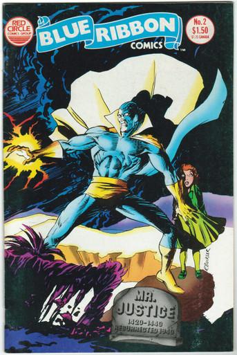 Blue Ribbon Comics #3 FN Front Cover