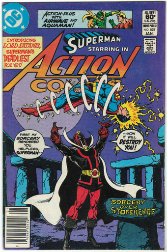 Action Comics #527 FN Front Cover