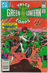 Tales of the Green Lantern Corps #2 VF/NM Front Cover