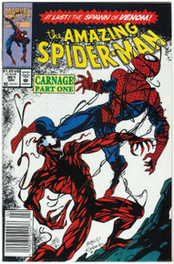 Amazing Spider Man #361 VF Front Cover