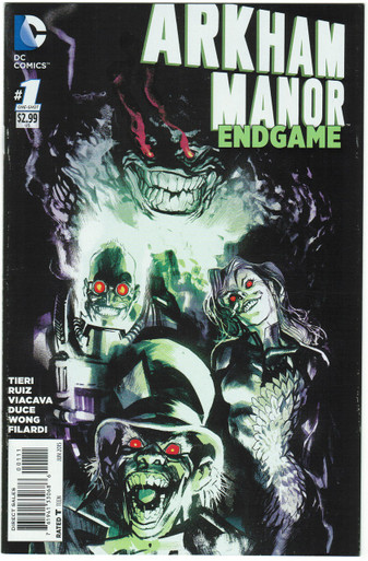 Arkham Manor Endgame #1 VF Front Cover