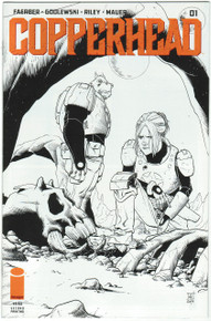 Copperhead #1 2nd Print NM Front Cover