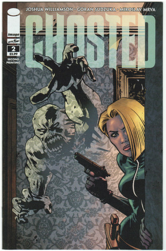 Ghosted #2 2nd Print NM Front Cover