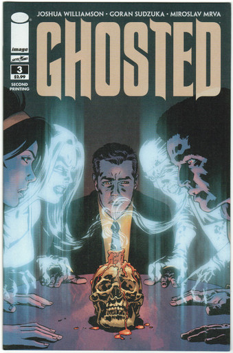 Ghosted #3 2nd Print NM Front Cover