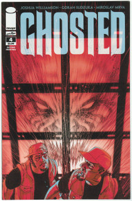 Ghosted #4 2nd Print NM Front Cover