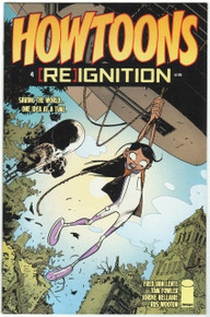 Howtoons Reignition #4 NM Front Cover
