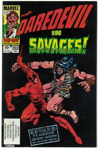 Daredevil #202 VF