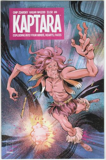 Kaptara #4 NM Front Cover