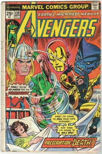 Avengers #139 FR Front Cover
