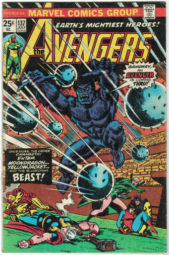 Avengers #137 VG/FN Front Cover